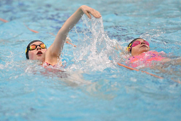 Free public swim sessions for 8-16 year-olds